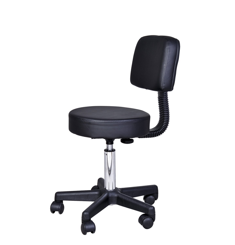 HOMCOM Adjustable Massage Stool Spa Beauty Salon Chair Facial Swivel Gas Lift Manicure Aosom Canada 71-0013*