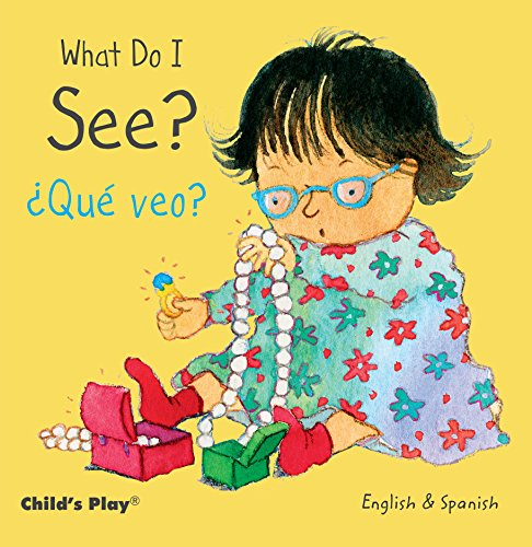 What Do I See? / Que Veo? (Small Senses Bilingual) (English and Spanish Edition) [Annie Kubler] (Tapa Dura)