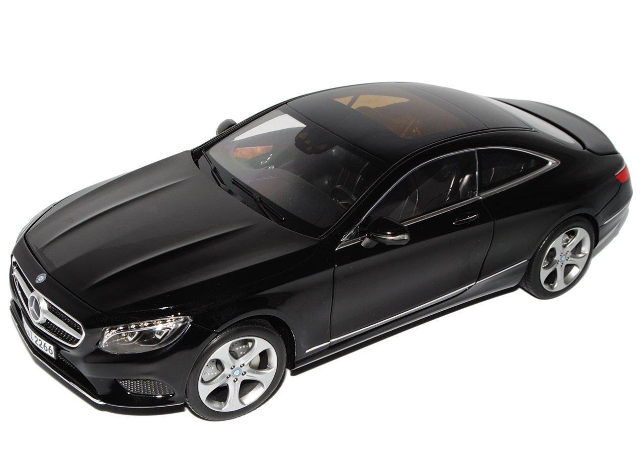 Norev Mercedes-Benz S-Klasse Coupe C217 Schwarz Ab Ab Ab 2014 1/18 Modell Auto mit individiuellem Wunschkennzeichen ef99a3