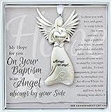 Always an Angel On Your Baptism Keepsake Gift / Ornament