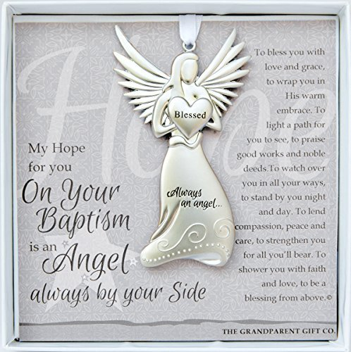 - Always an Angel On Your Baptism Keepsake Gift / Ornament