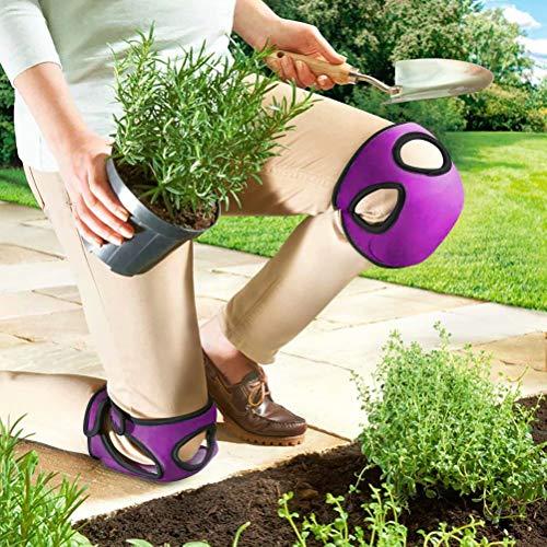BeGrit Gardening Knee Pads Garden Knee Protectors Protective Cushion Soft Ultra Comfort Neoprene Caps for Home Gardener Cleaning Work Scrubbing Floors Pruning