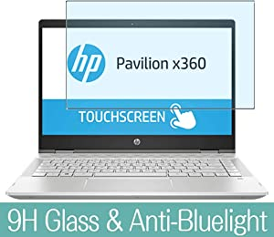 "Synvy Anti Blue Light Tempered Glass Screen Protector for HP Pavilion x360 14m-cd0000 / cd0003dx / cd0001dx / cd0006dx / cd0005dx 14"" Visible Area Screen Film Protectors"