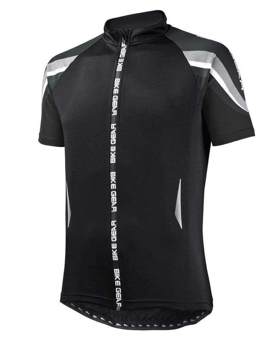 Crivit Sports Men s Cycling Jersey - Black - Size L (52 54)  Amazon.co.uk   Sports   Outdoors 4162a4fc0