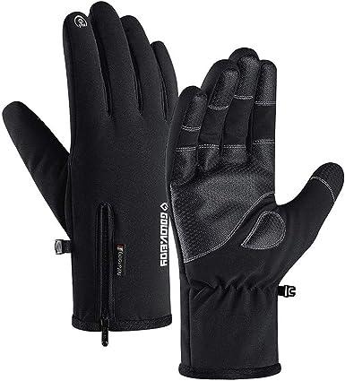 COSYINSOFA Guantes De Esquí Impermeable Calientes Pantalla Táctil de Dedo (-22 ℉ (-30 ℃) para Esquí Motocicleta Ciclismo Escalada Senderismo Caza ...