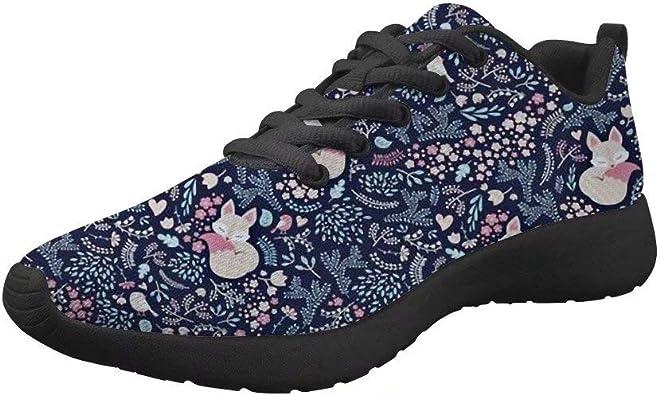 Lightweight Walking Shoes Floral Animal
