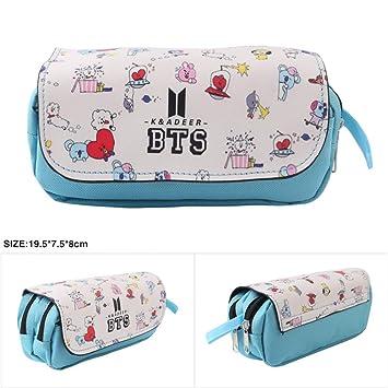 4c2a80d6662a Amazon.com : BTS Bangtan Boys PU Wallet Purse LOVE YOURSELF Portable ...