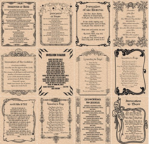 book-of-shadows-spells-pages-12-invocations-wicca-witchcraft-like-charmed-copper