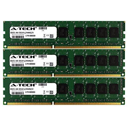 12GB KIT (3 x 4 GB) for HP-Compaq Z Workstation Series Z400 (6 DIMM Slots). DIMM DDR3 ECC Unbuffered PC3-10600 1333MHz RAM Memory. Genuine A-Tech Brand.