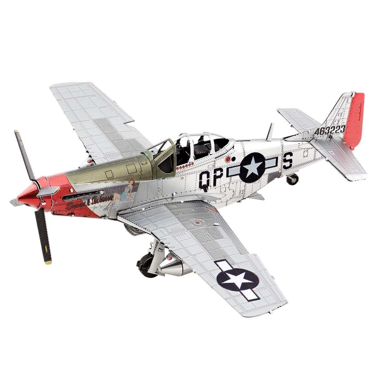 Fascinations Metal Earth P-51D Mustang Sweet Arlene 3D Metal Model Kit