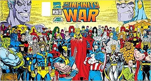 amazon com the infinity war no 1 jim starlin ron lim books