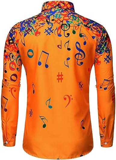 K-Youth Camisa Navidad Hombre Casual Ropa Adolescentes Chico Camisetas Manga Larga Hombre Marca Camiseta para Hombers Otoño Invierno Blusa Hombre Deporte Tallas Grandes Tops T Shirt: Amazon.es: Ropa y accesorios