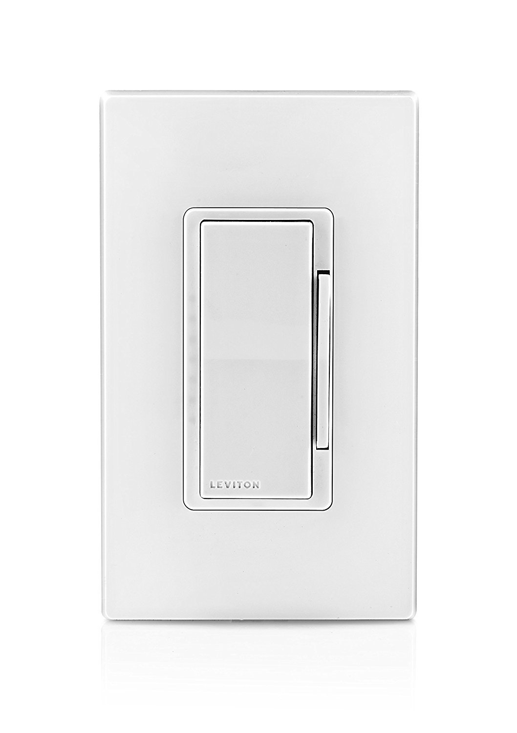 Leviton DZ6HD-1BZ Decora Smart 600W Dimmer with Z-Wave Technology, 10-Pack, White/Light Almond, Works with Amazon Alexa