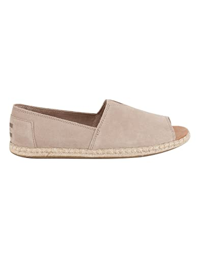 a54265bf8fb TOMS Open Toe Alpargatas Womens Shoes  Amazon.co.uk  Shoes   Bags
