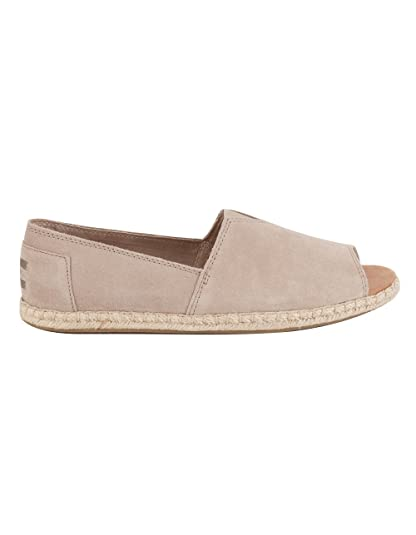 3587e49d8ab9 TOMS Open Toe Alpargatas Womens Shoes  Amazon.co.uk  Shoes   Bags