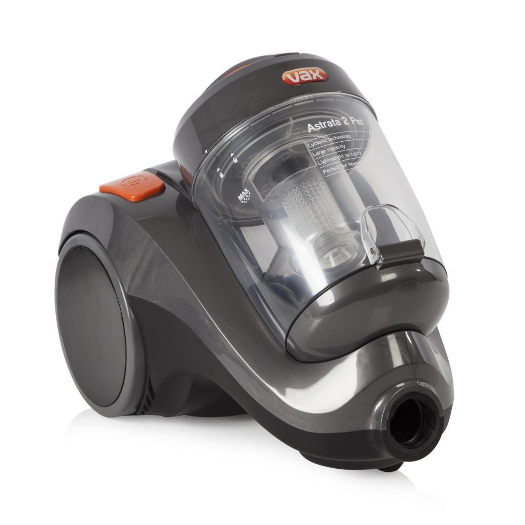 Vax VRS2061 Astrata 2 Pet Cyclonic Vacuum Cleaner, 800W - Grey