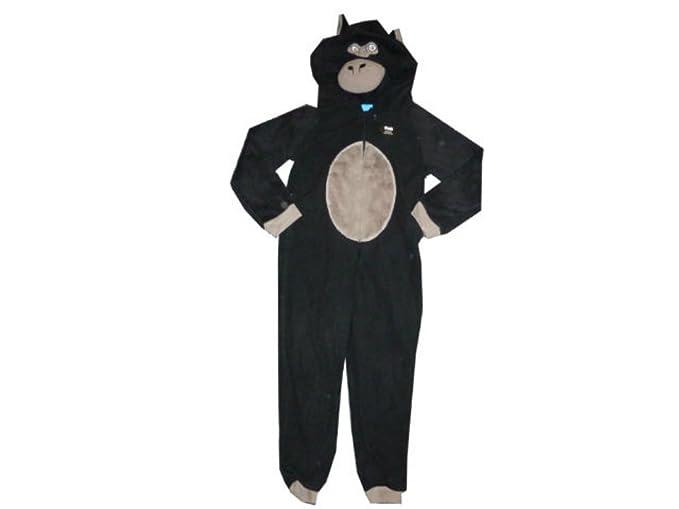 atmosphere Primark Negro Gorilla Onesie Edad 7 – 8 Años Todo en uno