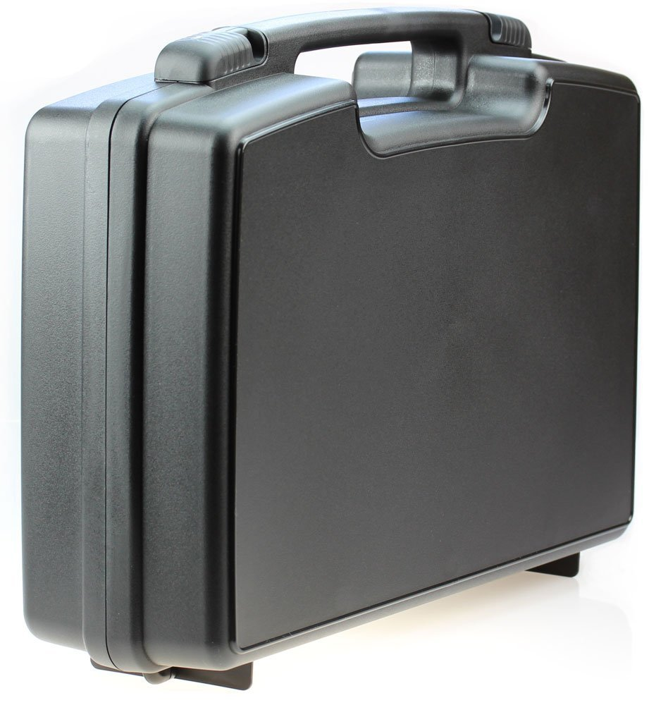 Skywin Portable Travel Hard Case for RIF6 CUBE, LG MiniBeam, Syhonic S8, Pico Projector, InFocus IN1146-Stores HDMI Adapters And Accessories - Durable Carrying Case to Protect and Store Equipment by Skywin