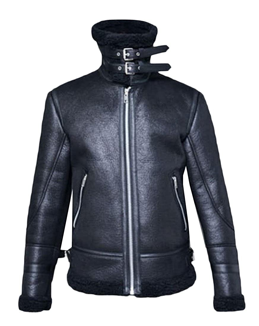 NestYu Men Solid Colored Thicken Warm With Zips Anorak Jacket