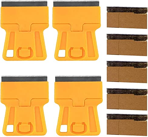 10pcs Single Edge Razor Blades Window Scrapers Blade Oven Cleaning Craft Art Cut