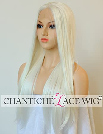 Chantiche Natural Looking Dark Roots Long Ombre Blonde Wig Straight