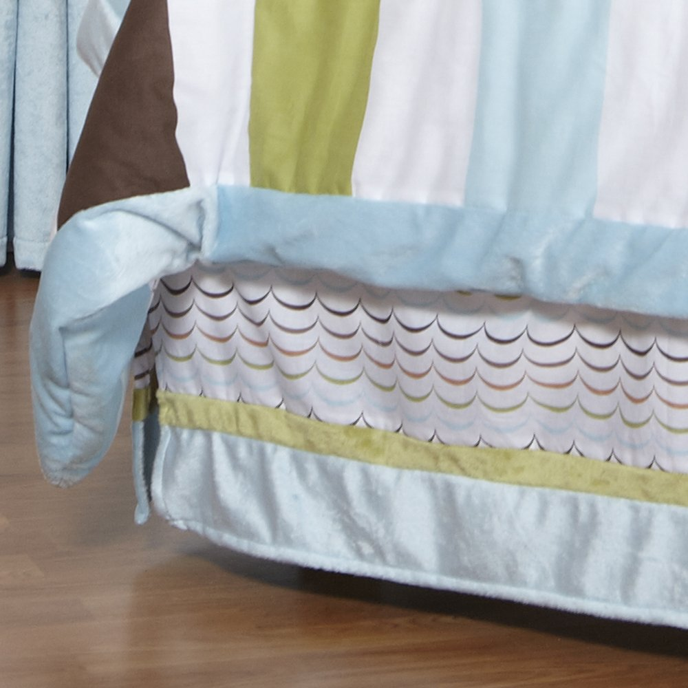 One Grace Place Puppy Pal Boy Full Bed Skirt
