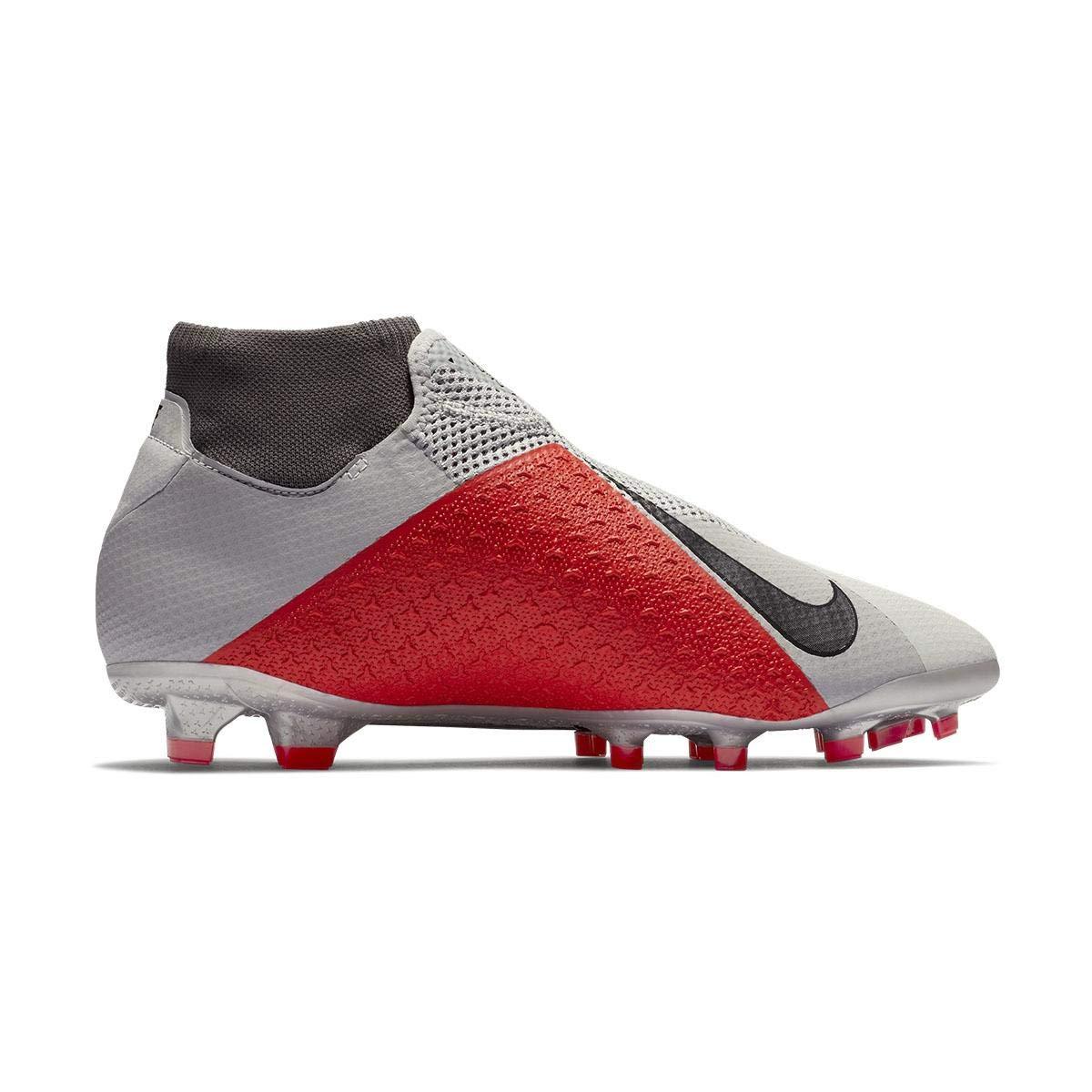 NIKE Unisex-Erwachsene Phantom Vsn Mehrfarbig Pro Df Fg Sneakers, Mehrfarbig Vsn (Pure Platinum/schwarz/Lt Crimson/Dark Grau 060) 699e7a