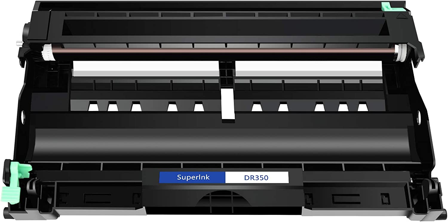SuperInk Compatible Drum Unit Replacement for Brother DR350 DR-350 to use with Intellifax 2820 2920 HL-2070N HL-2040 DCP-7020 DCP-7025 MFC-7225N MFC-7820N Black, 1-Pack