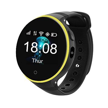 Amazon.com: gzcrdz GPS reloj inteligente con WiFi niños ...