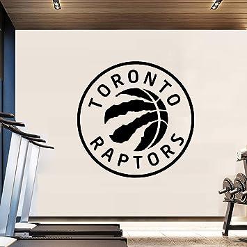 Baloncesto Toronto Raptors vinilo etiqueta de la pared calcomanías ...