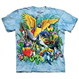 The Mountain Birds Of The Tropics T-Shirt, XX-Large, Blue