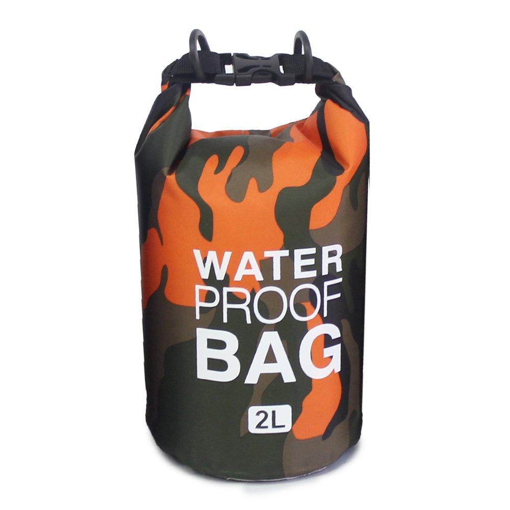 ユースUnion防水ドライバッグ圧縮袋アウトドアストレージのコーティングキャンプボートカヤック釣りラフティングカヌースノーボードハイキング水泳2 5 10 15 20 30 L B07BT9CR48 10L|イエロー イエロー 10L