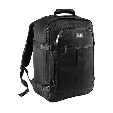 "2baf303b3171 Cabin Max Mini Metz 30 Litre Travel Hand Luggage Backpack €"" 45 x 35 x  20 cm (Black)  Amazon.in  Shoes   Handbags"