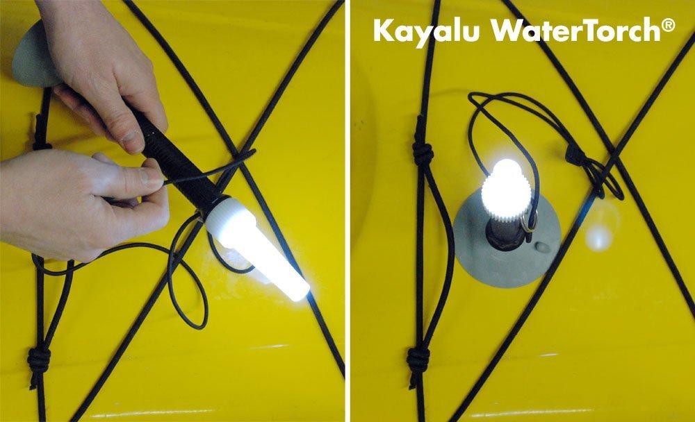 Kayalu Watertorch Kayak Light with Suction Base