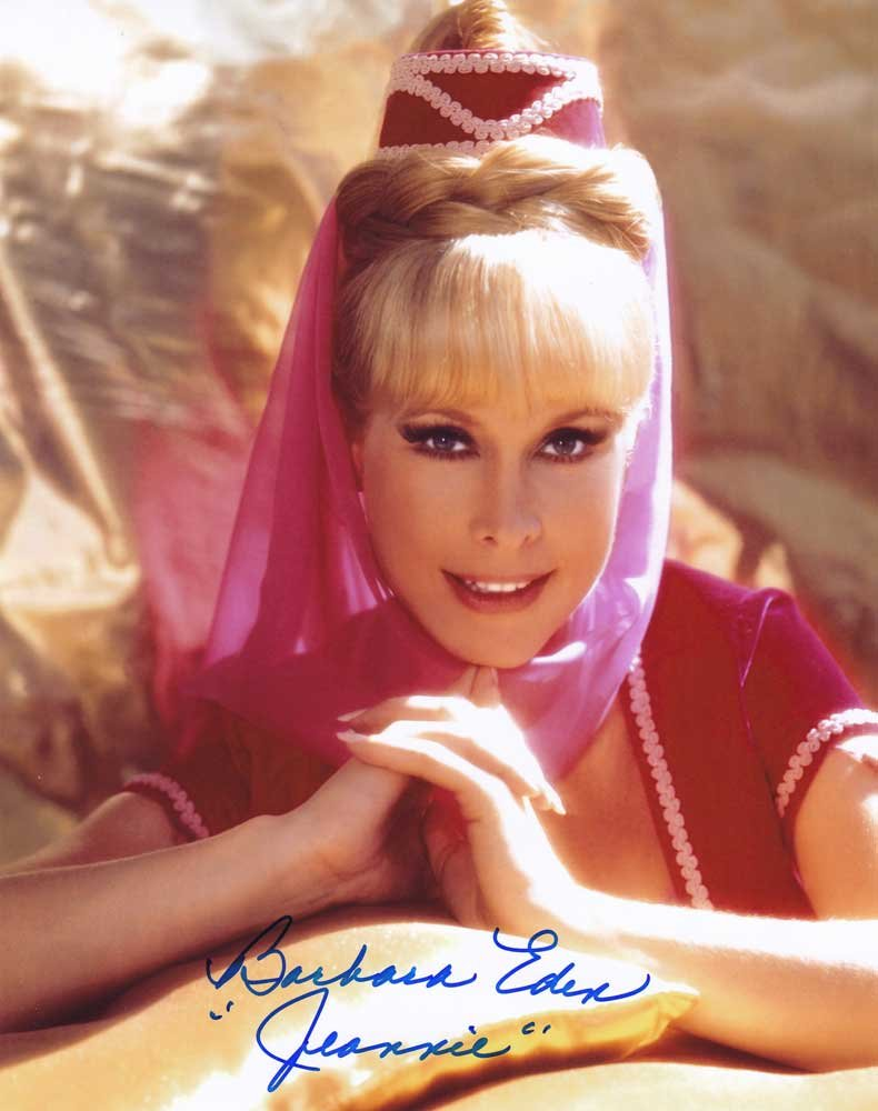 Barbara Eden in-person autographed photo I Dream of Jeannie