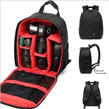 Amazon.com   Yosoo Professional Durable Waterproof DSLR Backpack Case Bag  For Canon Nikon Sony Camera(Red)   Camera   Photo d598d5f3b18b1