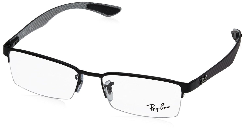 Ray-Ban Herren 8412 Brillengestelle, Schwarz (Negro), 52: Amazon.de ...
