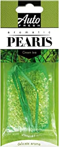 Auto Fresh Aromatic Pearls Designer Scented Beads Car and Home Air Freshener 2-Pack (Fragrance: Green Tea)
