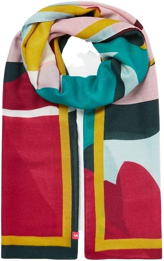 Joules Femme Isla JLP Long Longueur Printed Fashion Scarf