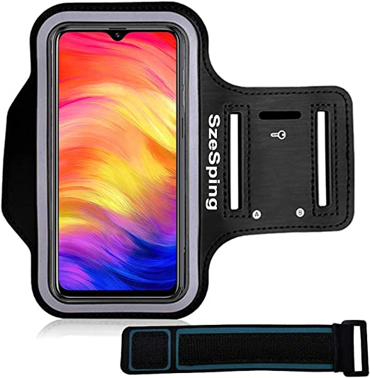 A50 A30 A20 /& A10 Black Cell Phone Holder with Air Vent for Exercise /& Working Out Plus Key Holder i2 Gear Running Armband Phone Case for Samsung Galaxy A51