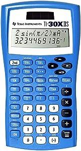 Texas Instruments TI-30X IIS Scientific Calculator, Blue