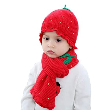 Image Unavailable. Image not available for. Color  Baby Girls Red Skull Hat Scarf  Set ... c3fdecb881a