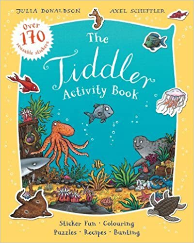 The Tiddler Activity Book by Donaldson, Julia (2014)