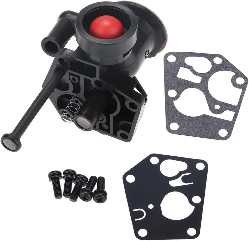 Zerodis Reemplazo del Carburador De La Cortadora De Metal con La Instalación De Hardware para Briggs 0026 Stratton 499809 498809a 494406