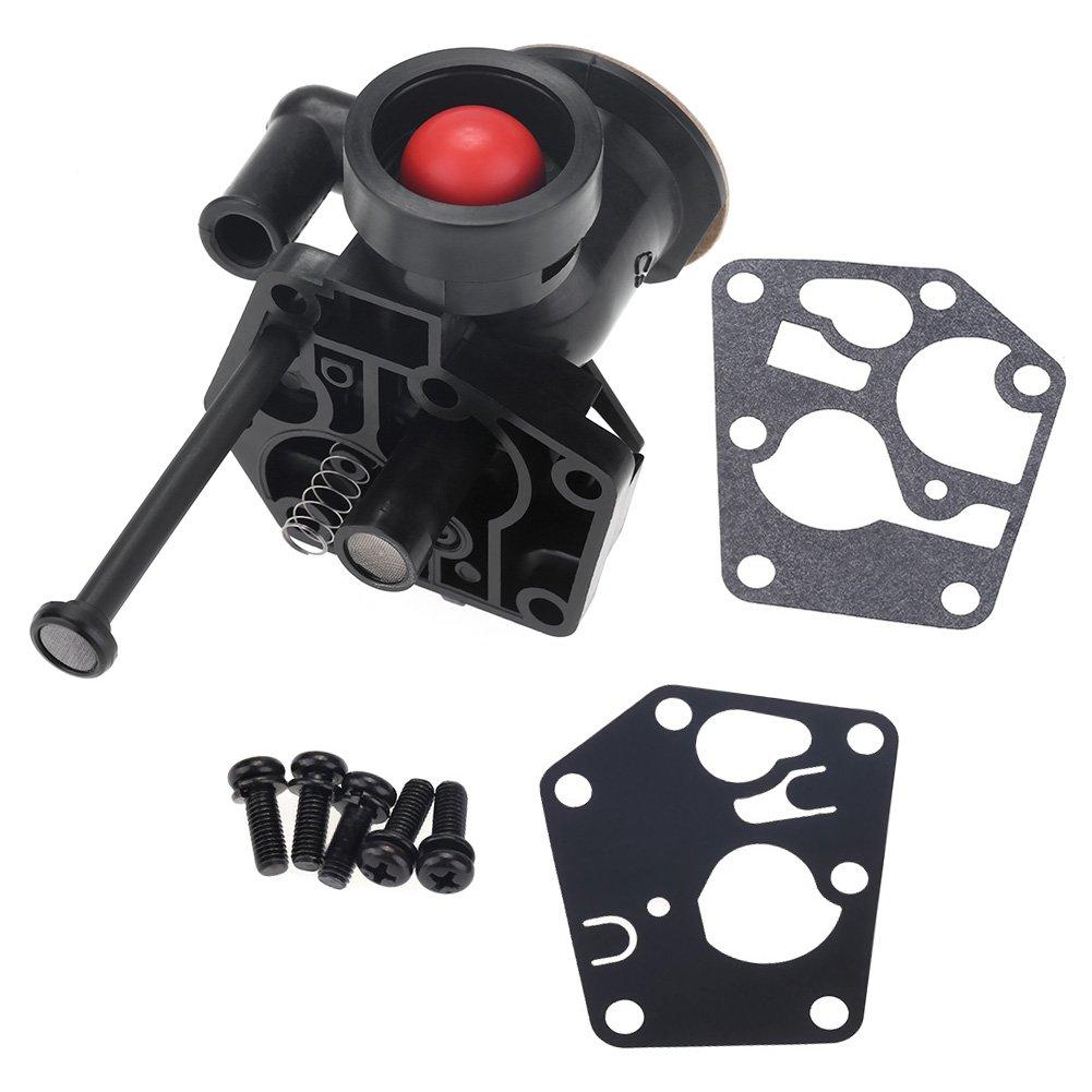 Sostituzione del carburatore della falciatrice in metallo con l'installazione di hardware per Briggs 0026 Stratton 499809 498809A 494406 Zerodis