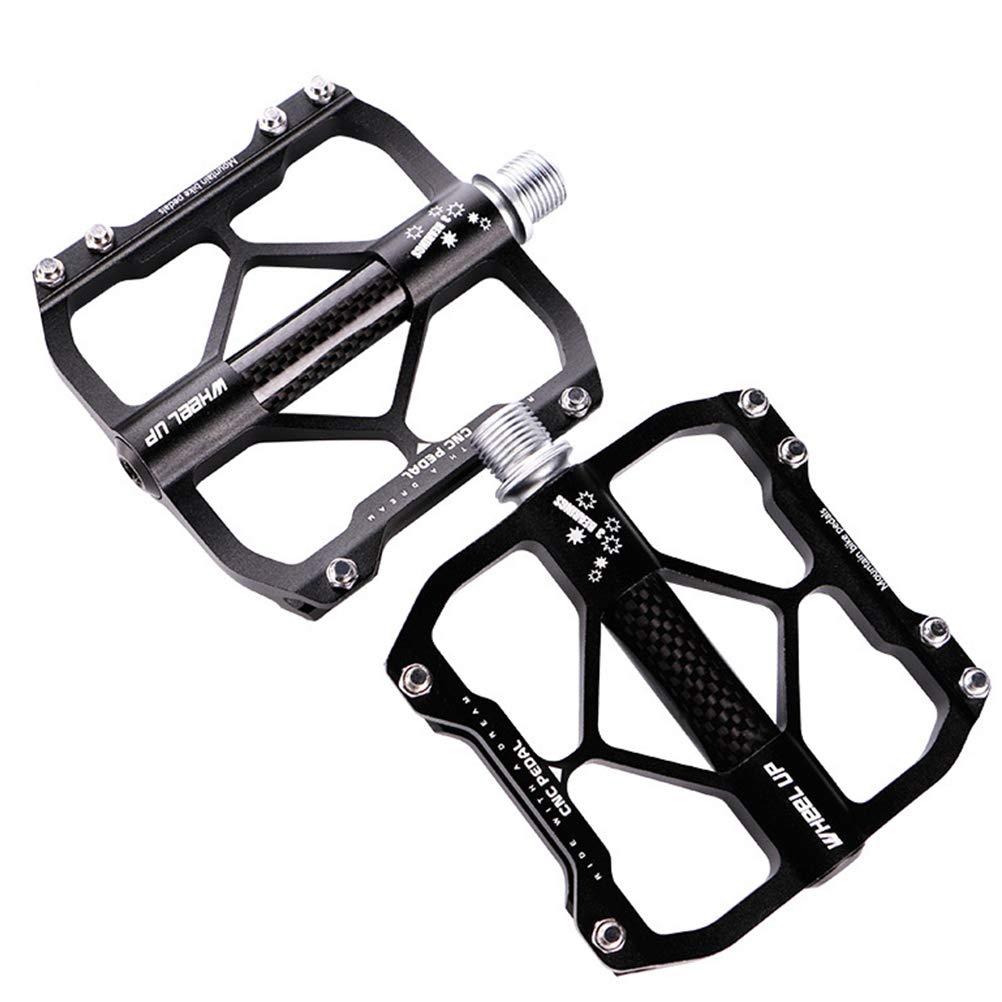 LETOUCH ホイールアップ アルミニウム合金 バイクペダル MTB マウンテンバイク CNC 3ベアリング BMX 滑り止め 超軽量 自転車 サイクリング ペダル 自転車パーツ 自転車アクセサリー   B07PQLZZLS