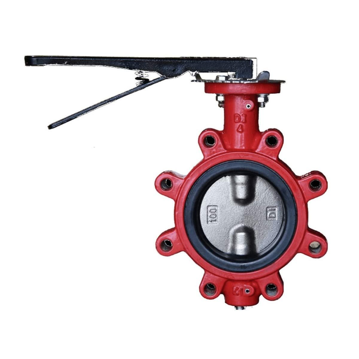 DI NP Disc Buna Seat Size 10 Lug Butterfly Valve