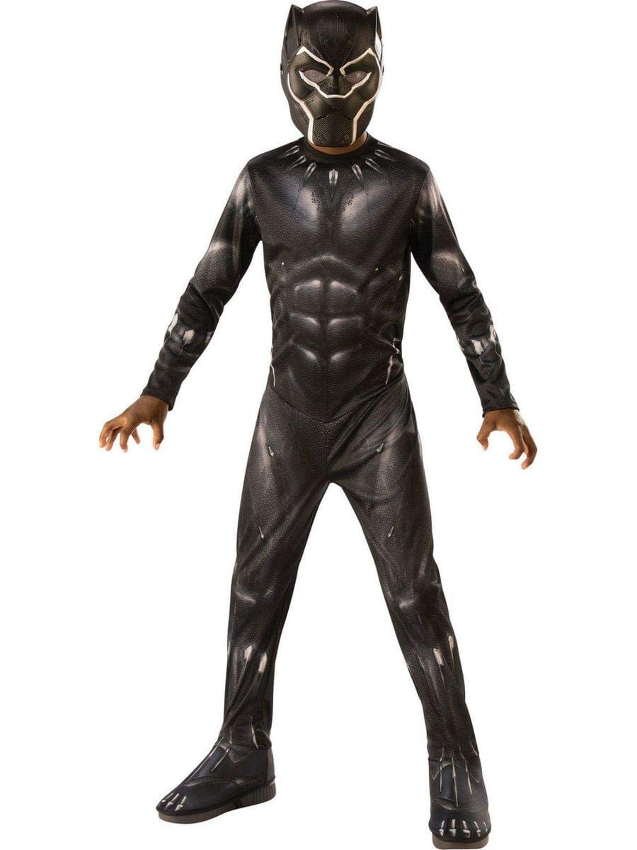 Rubie's Black Panther Child's Costume, Black/Grey, Small