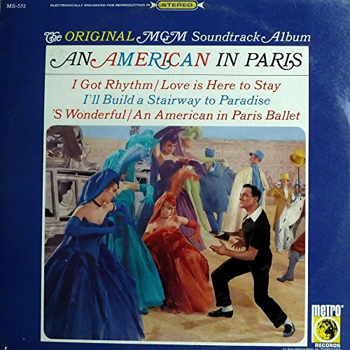 Price comparison product image MGM: An American In Paris Soundtrack Vinyl LP Record