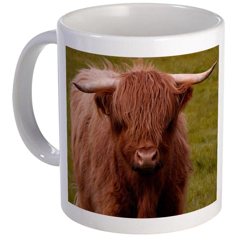 CafePress - Scottish Highland Cow Mug - Unique Coffee Mug, Coffee Cup